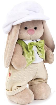Мягкая игрушка заяц BUDI BASA Зайка Стефан плюш текстиль пластик бежевый 32 см StM-156 centek ct 2525