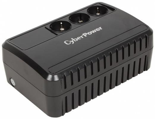 ИБП CyberPower 600VA/360W BU600E 1PE-C000339-00G ибп fsp aga 600 600va 360w 3 3 euro