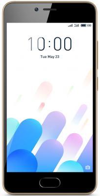 Смартфон Meizu M5c золотистый 5 16 Гб LTE Wi-Fi GPS 3G смартфон meizu m6 золотистый 5 2 16 гб lte wi fi gps