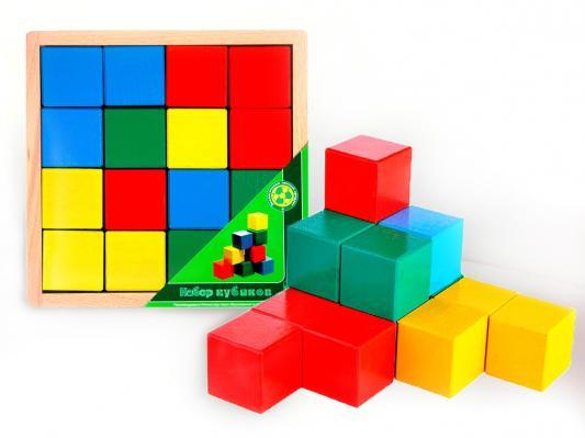 Кубики ПРЕСТИЖ-ИГРУШКА Кубики цветные от 3 лет 16 шт АЦ2200 игрушка кубики