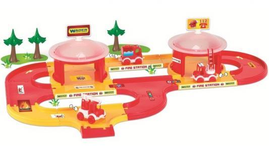 Игровой набор WADER Kid Cars 3D пожарная 53310