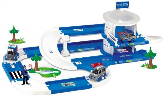 Игровой набор WADER Kid Cars 3D полиция 53320 игровой набор wader kid cars 3d аэропорт 53350