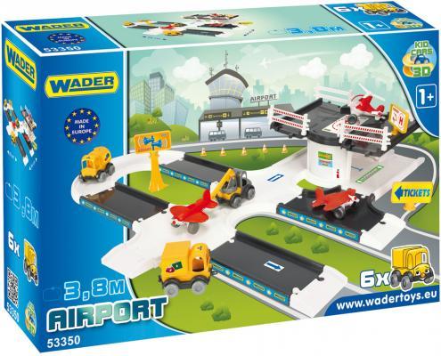 Игровой набор WADER Kid Cars 3D аэропорт 53350 технопарк игровой набор аэропорт