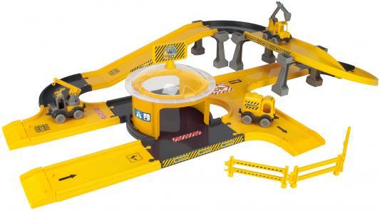 Игровой набор WADER Kid Cars 3D стройка 53340