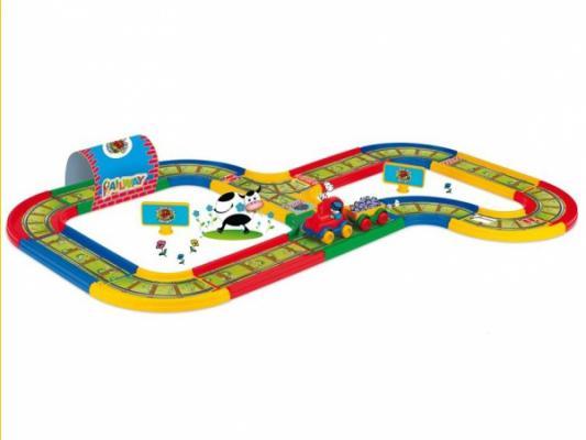 Игровой набор WADER Kid Cars железная дорога 51701