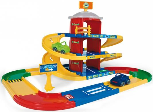 Игровой набор WADER Kid Cars 3D гараж 3 этажа 53040