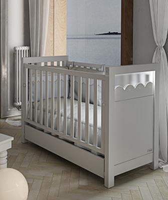 Кроватка-качалка Micuna Amelia Aran Luxe Relax (white) кроватка micuna amelia aran big luxe relax 140 70 sand