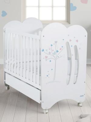 Кроватка-качалка Micuna Aura (white)