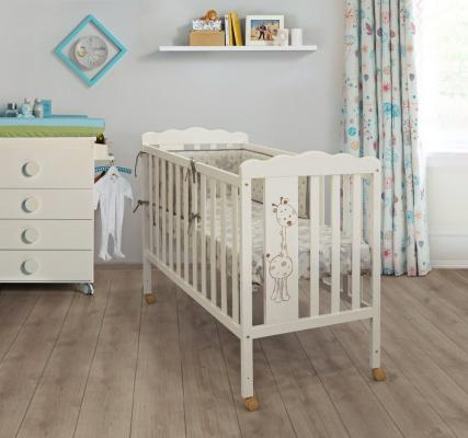 Кроватка-качалка Micuna Baby Giraffe (ivory)