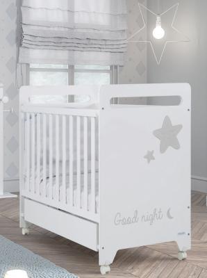 Кроватка-качалка Micuna Istar (white/grey)