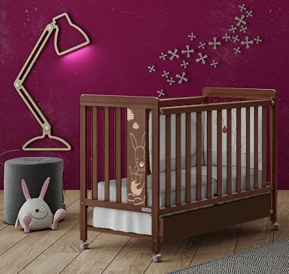 Кроватка Micuna Kangaroo (chocolate) кроватка micuna valeria relax chocolate