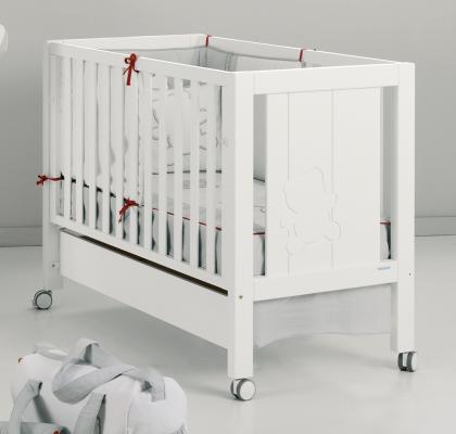 Кроватка-качалка Micuna Neus Relax Big (white)