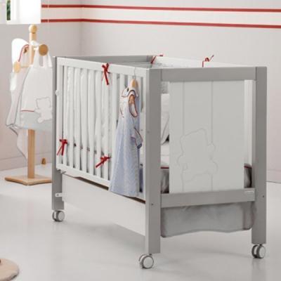Кроватка-качалка Micuna Neus Relax Big (white/grey)