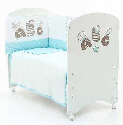 Кроватка-качалка Micuna Promo ABC (white)