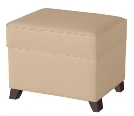 Купить Пуф для кресла-качалки Micuna Foot Rest (искусственная кожа/chocolate-beige), Пуфы, банкетки, кресла, софы
