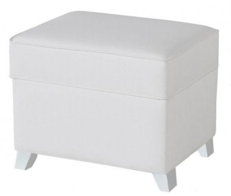 Пуф для кресла-качалки Micuna Foot Rest (искусственная кожа/white-white) кресла качалки шезлонги tiny love люлька баунсер люкс