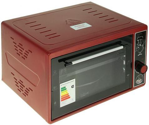 Мини-печь Чудо Пекарь ЭДБ-0121 красный