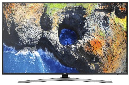 Телевизор Samsung UE75MU6100UX черный телевизор samsung ue65mu6300ux черный