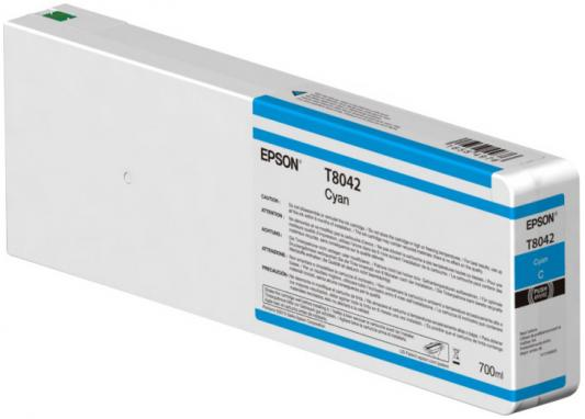 Картридж Epson C13T804200 для Epson CS-P6000 голубой картридж epson t009402 для epson st photo 900 1270 1290 color 2 pack