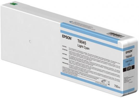 Картридж Epson C13T804500 для Epson CS-P6000 голубой картридж cactus cs ept1634 для epson wf 2010 2510 2520 2530 2540 2630 2650 2660 желтый