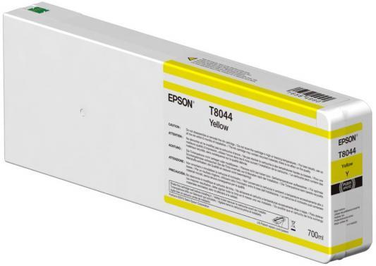Картридж Epson C13T804400 для Epson CS-P6000 желтый картридж epson t0634 желтый c13t06344a10