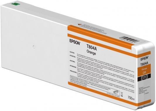 Картридж Epson C13T804A00 для Epson CS-P7000 оранжевый картридж epson t009402 для epson st photo 900 1270 1290 color 2 pack