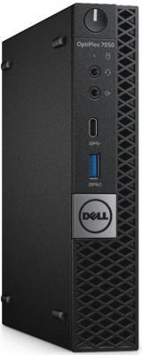 Неттоп DELL OptiPlex 7050 MFF Intel Core i5-6500T 8Gb SSD 256 Intel HD Graphics 530 Linux черный 7050-3648