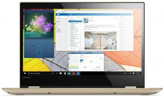 """Ноутбук Lenovo IdeaPad YOGA 520-14IKB 14"""" 1920x1080 Intel Core i7-7500U цена и фото"""