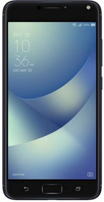 Смартфон ASUS ZenFone 4 Max ZC554KL черный 5.5 16 Гб LTE Wi-Fi GPS 3G 90AX00I1-M00010 смартфон asus zenfone 3 max zc553kl серебристый 5 5 32 гб lte wi fi gps 3g 90ax00d3 m00300
