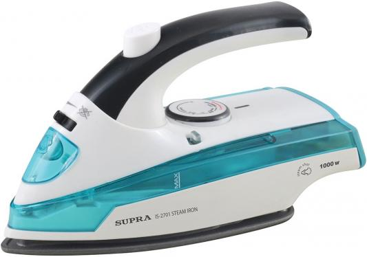 Утюг Supra IS-2701 1000Вт белый синий