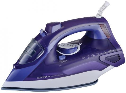 Утюг Supra IS-2401 2400Вт фиолетовый утюг supra is 2605 2600вт фиолетовый