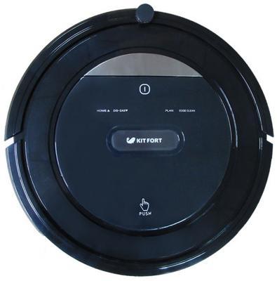 Робот-пылесос KITFORT KT-516 сухая уборка чёрный пылесос робот kitfort кт 516