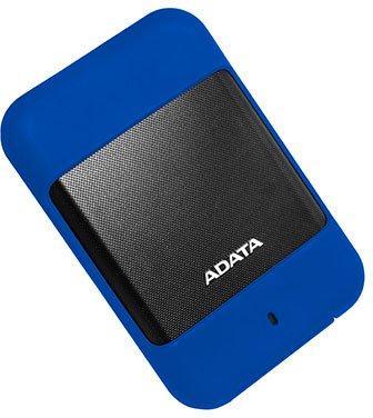 "Внешний жесткий диск 2.5"" USB3.0 2Tb Adata HD700 AHD700-2TU3-CBL синий"