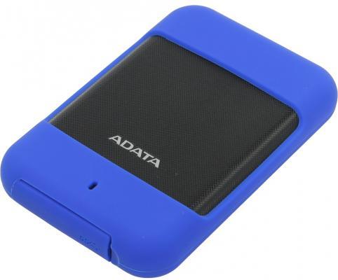 """Внешний жесткий диск 2.5"""" USB3.0 1Tb Adata HD700 AHD700-1TU3-CBL синий внешний жесткий диск a data hd720 1tb синий ahd720 1tu3 cbl"""