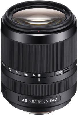 Объектив Sony DT SAM SAL-18135 18-135мм f/3.5-5.6 черный