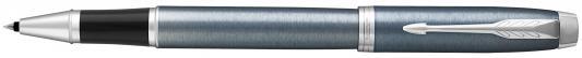 Ручка-роллер Parker IM Core T321 Light Blue Grey CT черный F 1931662