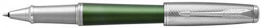 Ручка-роллер Parker Urban Premium T311 Green CT черный F 1931618 ручка роллер parker urban premium t311 orange ct f чернила черные 1931626
