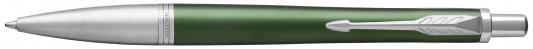 Шариковая ручка автоматическая Parker Urban Premium K311 Green CT синий M 1931619 шариковая ручка автоматическая parker vector standard k01 blue green ct синий m 2025751