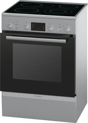 Электрическая плита Bosch HCA744650R серебристый