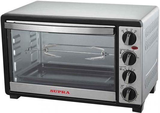 Мини-печь Supra MTS-331 чёрный серый