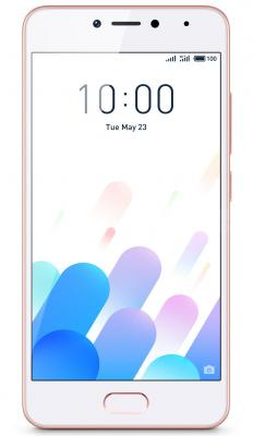 "Смартфон Meizu M5c розовый 5"" 16 Гб LTE Wi-Fi GPS 3G MZU-M710H-16-RGPK"
