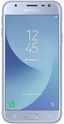 Смартфон Samsung Galaxy J3 2017 голубой 5 16 Гб LTE Wi-Fi GPS 3G SM-J330FZSDSER