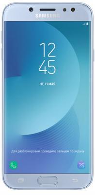 Смартфон Samsung Galaxy J7 2017 голубой 5.5 16 Гб NFC LTE Wi-Fi GPS 3G SM-J730FZSNSER смартфон asus zenfone live zb501kl золотистый 5 32 гб lte wi fi gps 3g 90ak0072 m00140