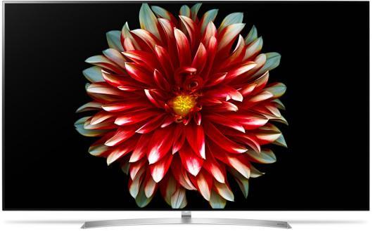 Телевизор LG OLED55B7V серебристый черный oled телевизор lg oled65b6v