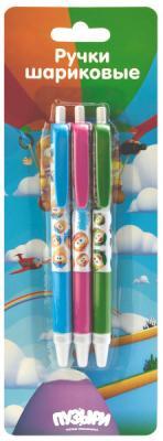 Набор шариковых ручек автоматическая Action! Пузыри 3 шт синий набор шариковых ручек action  dragons  3 шт  блистер