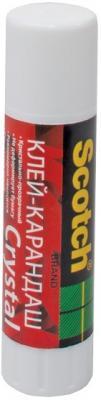 Клей-карандаш 3M Scotch Crystal 21 гр. 6321D24 3m scotch