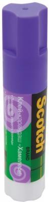 Клей-карандаш 3M Scotch. Хамелеон (фиолетовый) 15 гр. 6115D