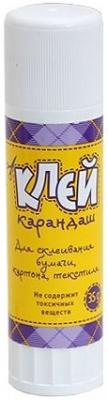 Клей-карандаш Глобус Школьник 35 гр. 1024