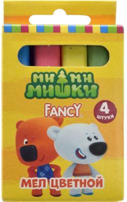 """Мелки школьные Action! """"Fancy"""" 4 цвета 4 штуки от 6 лет FCC-4"""