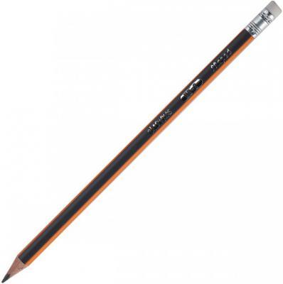 Карандаш графитовый Maped Black Peps 851721 карандаши восковые мелки пастель maped карандаши color peps 18 цветов